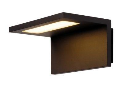 Outdoor-LED-Wandleuchte Angolux schwarz